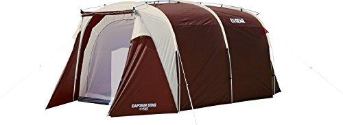 キャプテンスタッグ(CAPTAIN STAG) キャンプ テント エクスギア シェルター ワンルーム ドーム [5-6人用]UA-17