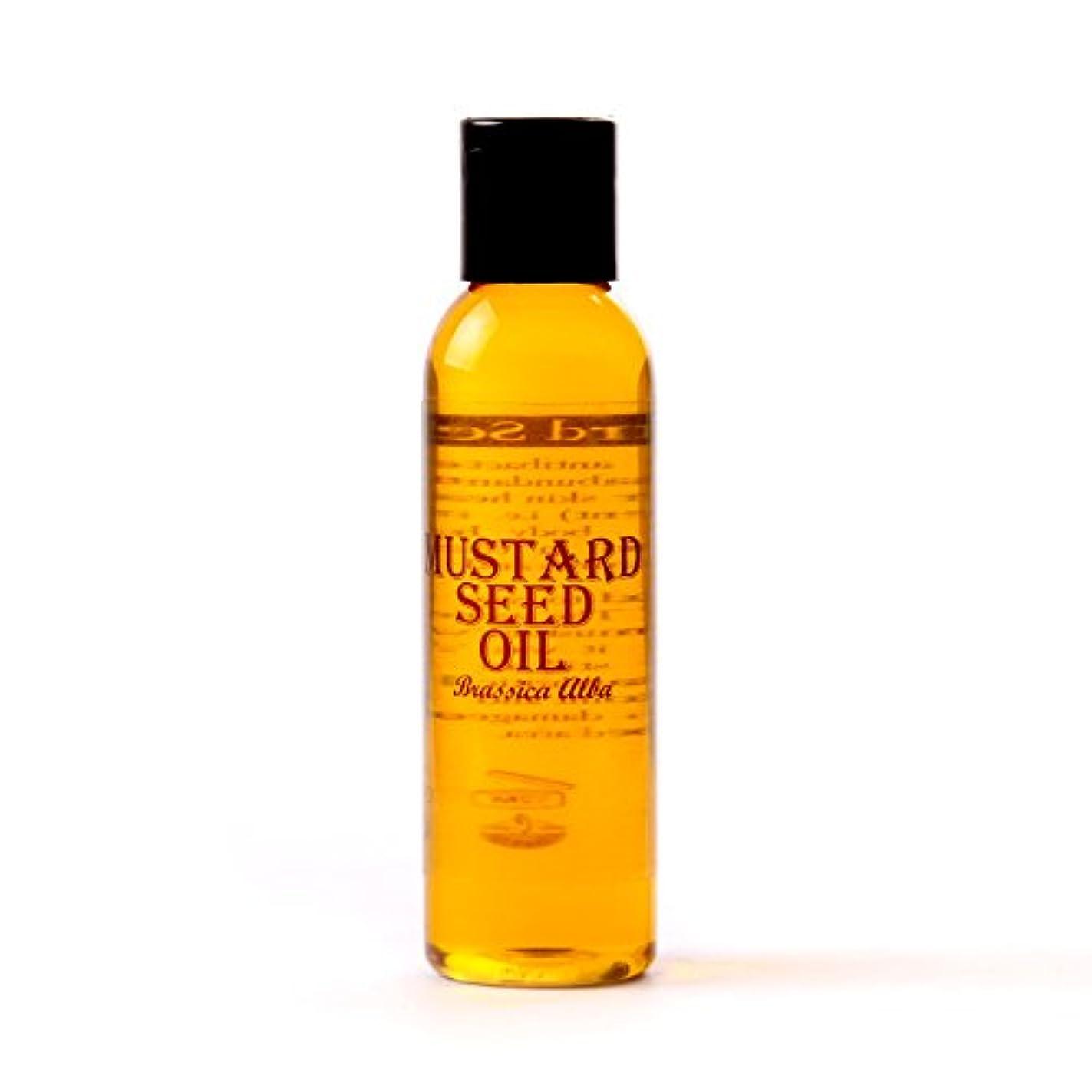 忌避剤思いつく郵便屋さんMystic Moments   Mustard Seed Carrier Oil - 125ml - 100% Pure