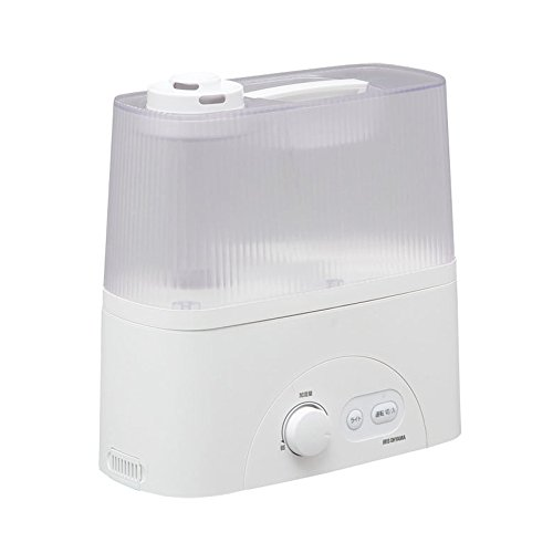 アロマ対応ハイブリッド加湿器(超音波+加熱) 容量4L 最大450ml/h クリア UHM-450D-C(272049)