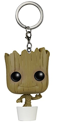Funko - Figurine Guardians of The Galaxy - Baby Groot Porte Clé Pocket Pop 4cm - 0849803067151