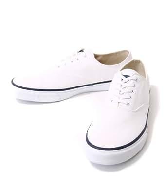SPERRY TOP-SIDER [ スペリー トップサイダー ] CVO WHITE(デッキシューズ スニーカー トップサイダー 靴) US7.5 ホワイト