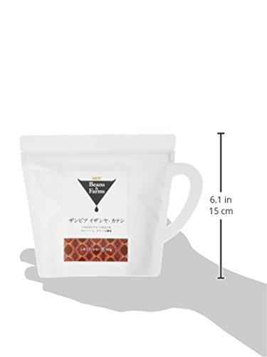 『UCC Beans&Farms コーヒー豆 (粉) ザンビア イザンヤ・カテシ 100g』の2枚目の画像
