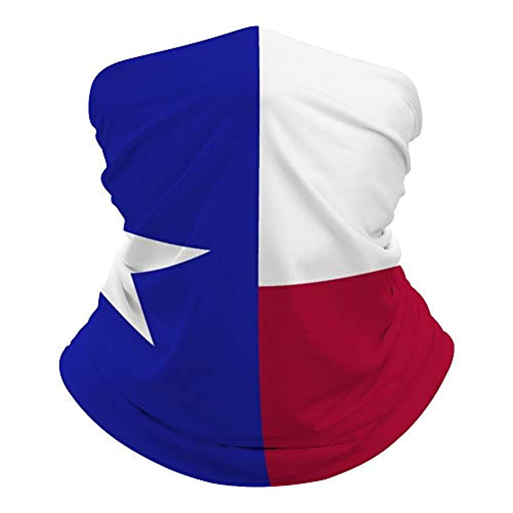 それにもかかわらず黒くするそのようなテキサス州の旗 Texas State Flag アウトドア 防風 防塵 口鼻保護 顔面隔離 UVカット バラエティマジックスカーフ多機能 フェイス ネックゲートル チューブスカーフ バンダナ リストバンド 登山 サイクリング スポーツ用 速乾 男女兼用