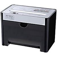 GBC シュレッダー デスクトップ マイクロカット CD・カード細断 ブラック/ホワイト GSHA11M-B