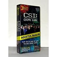 CSI: Crime Game & Boooster Pack #2 ~ 3 New Crime Stories by SBG