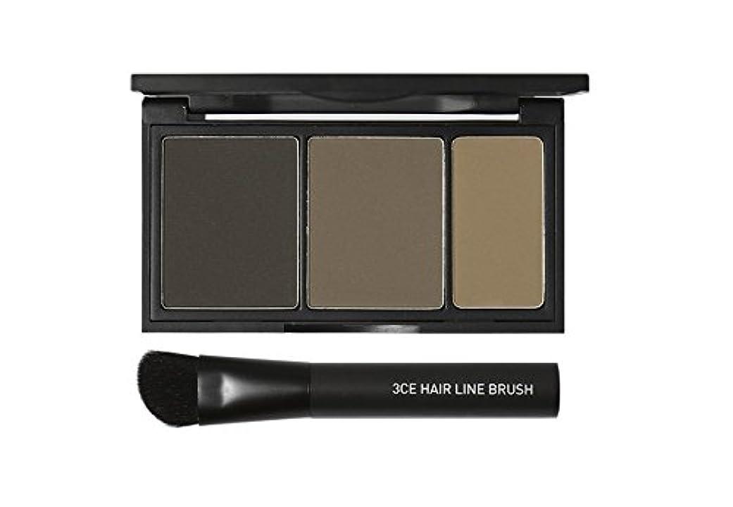 高いインゲン体系的に3 Concept Eyes 3CE Hair Line Shadow ヘアラインシャドー(Natural Ash)