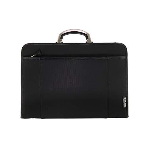 LuggageAOKI 青木鞄 LAFERE OPS ラフェール オプス 2way ビジネス アタッシュケース ショルダーバッグ アルミハンドル A4 Lサイズ 日本製 ブラック 6725-10