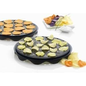 電子レンジ調理用 チップスメーカートレー (2枚セット)Chips maker tray (set of 2) (海外直送品)