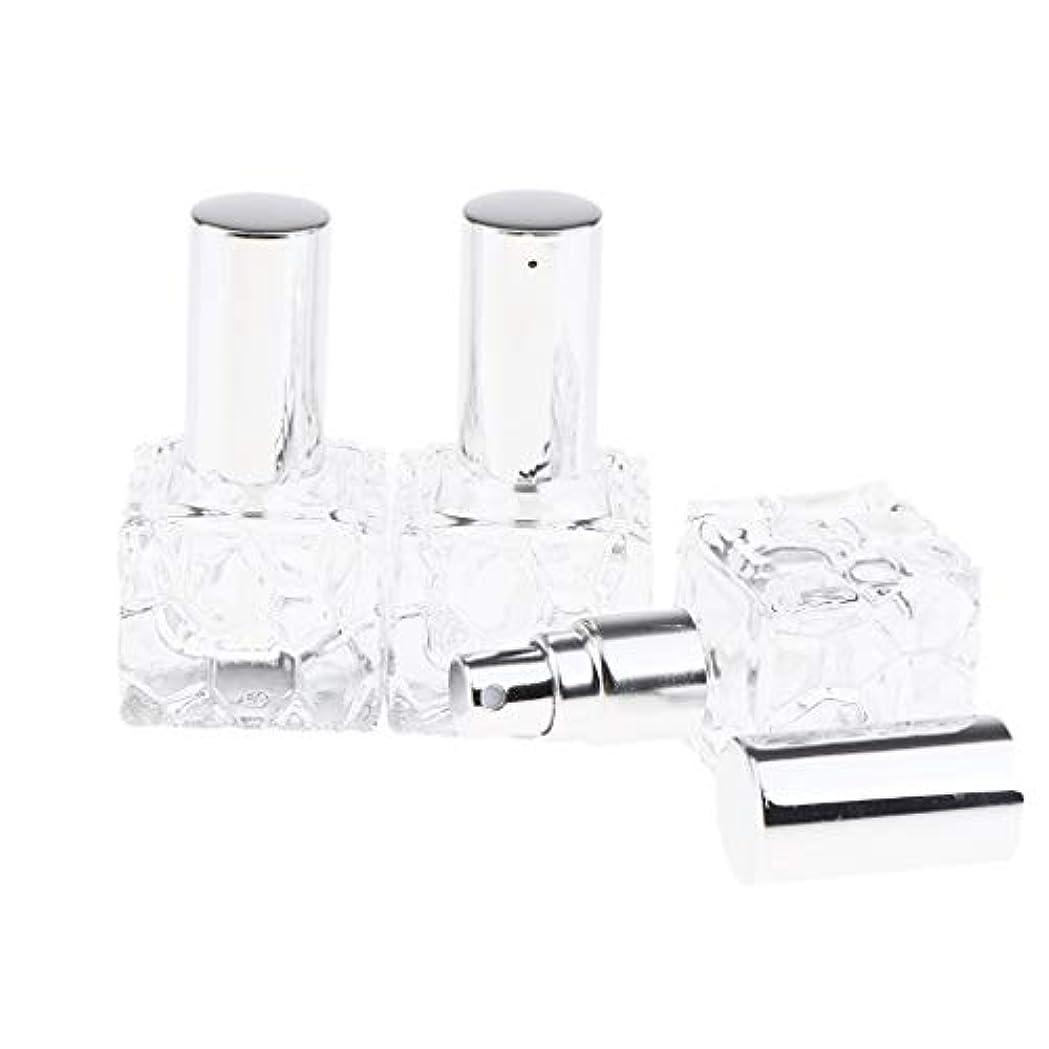 程度給料苦情文句Injoyo スプレーボトル ガラス 香水瓶 ポンプ式 アトマイザー 香水 保存 アロマ保存容器 2種選択でき - 10ml 3個