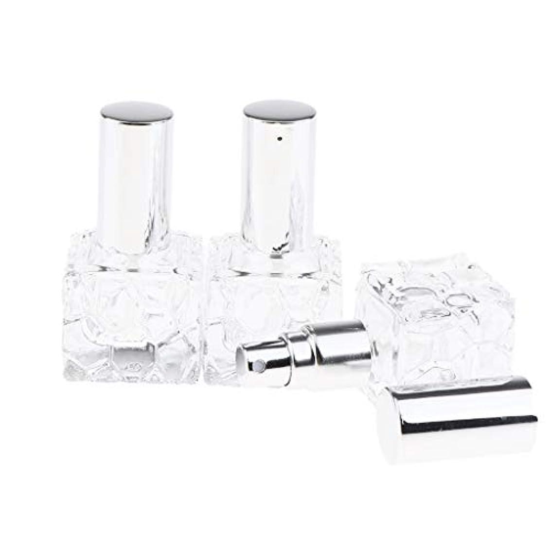 口運命第五Injoyo スプレーボトル ガラス 香水瓶 ポンプ式 アトマイザー 香水 保存 アロマ保存容器 2種選択でき - 10ml 3個