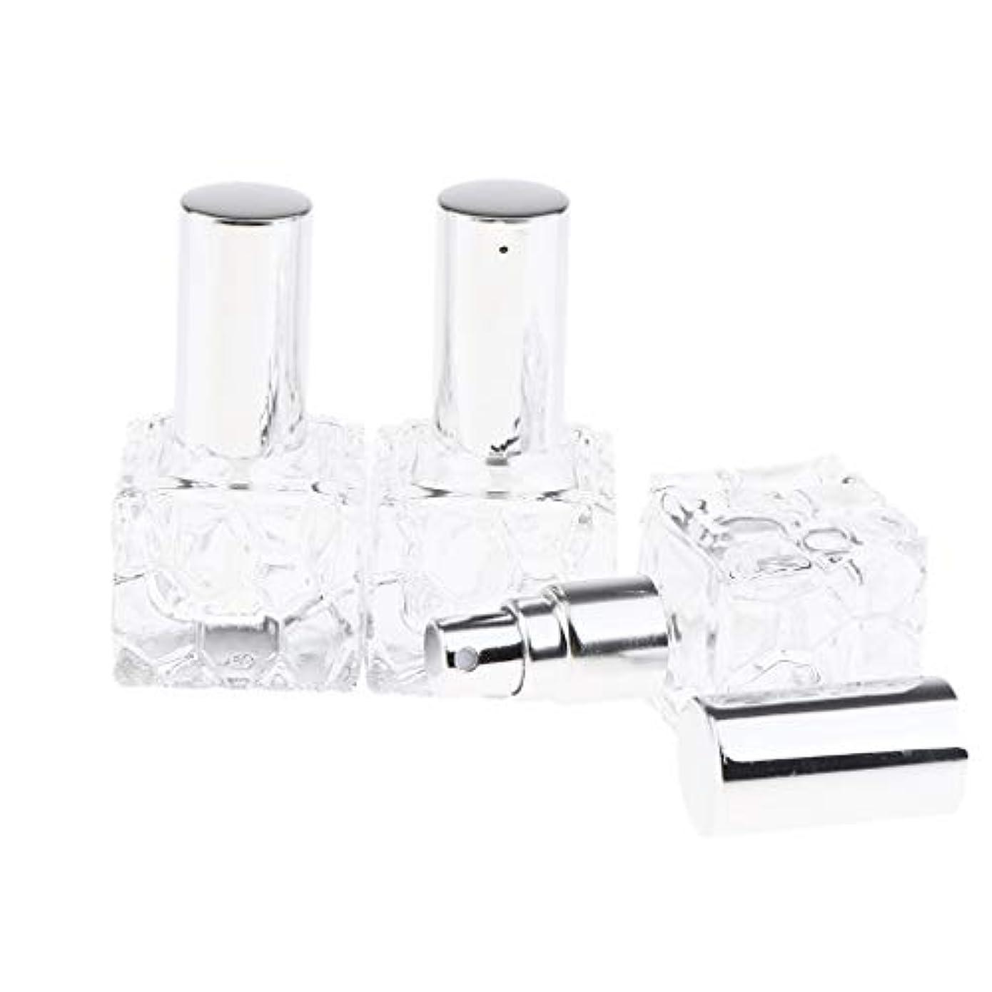 個人的に警察マナーInjoyo スプレーボトル ガラス 香水瓶 ポンプ式 アトマイザー 香水 保存 アロマ保存容器 2種選択でき - 10ml 3個