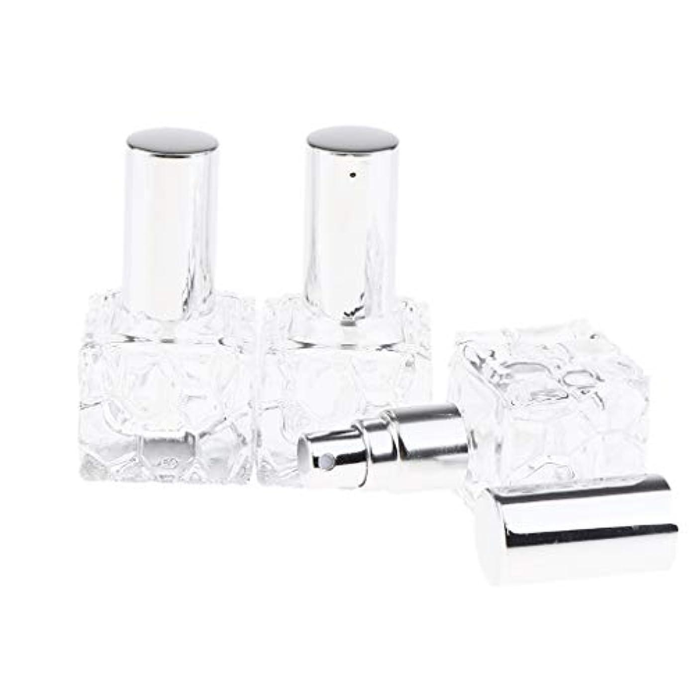 腐食する目の前の飢Injoyo スプレーボトル ガラス 香水瓶 ポンプ式 アトマイザー 香水 保存 アロマ保存容器 2種選択でき - 10ml 3個