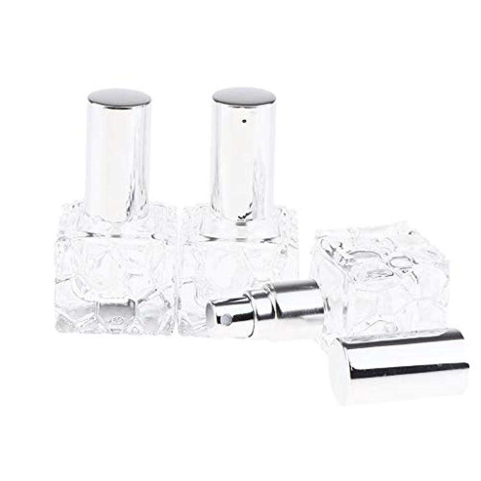 どこでもライナー即席Injoyo スプレーボトル ガラス 香水瓶 ポンプ式 アトマイザー 香水 保存 アロマ保存容器 2種選択でき - 10ml 3個