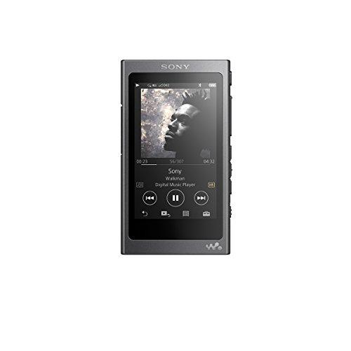 ソニー SONY ウォークマン Aシリーズ NW-A37HN : 64GB ハイレゾ対応 Bluetooth/LDAC/NFC対応 DSEE HX搭載 microSDメモリーカード対応 ノイズキャンセリング機能搭載 ハイレゾ対応イヤホン付属 チャコールブラック NW-A37HN B