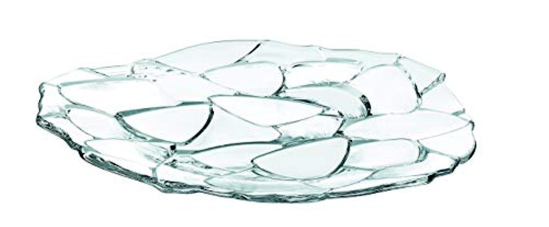 ナハトマン(Nachtmann) ペタル チャージャープレート クリスタルガラス 32cm 93622 1枚入