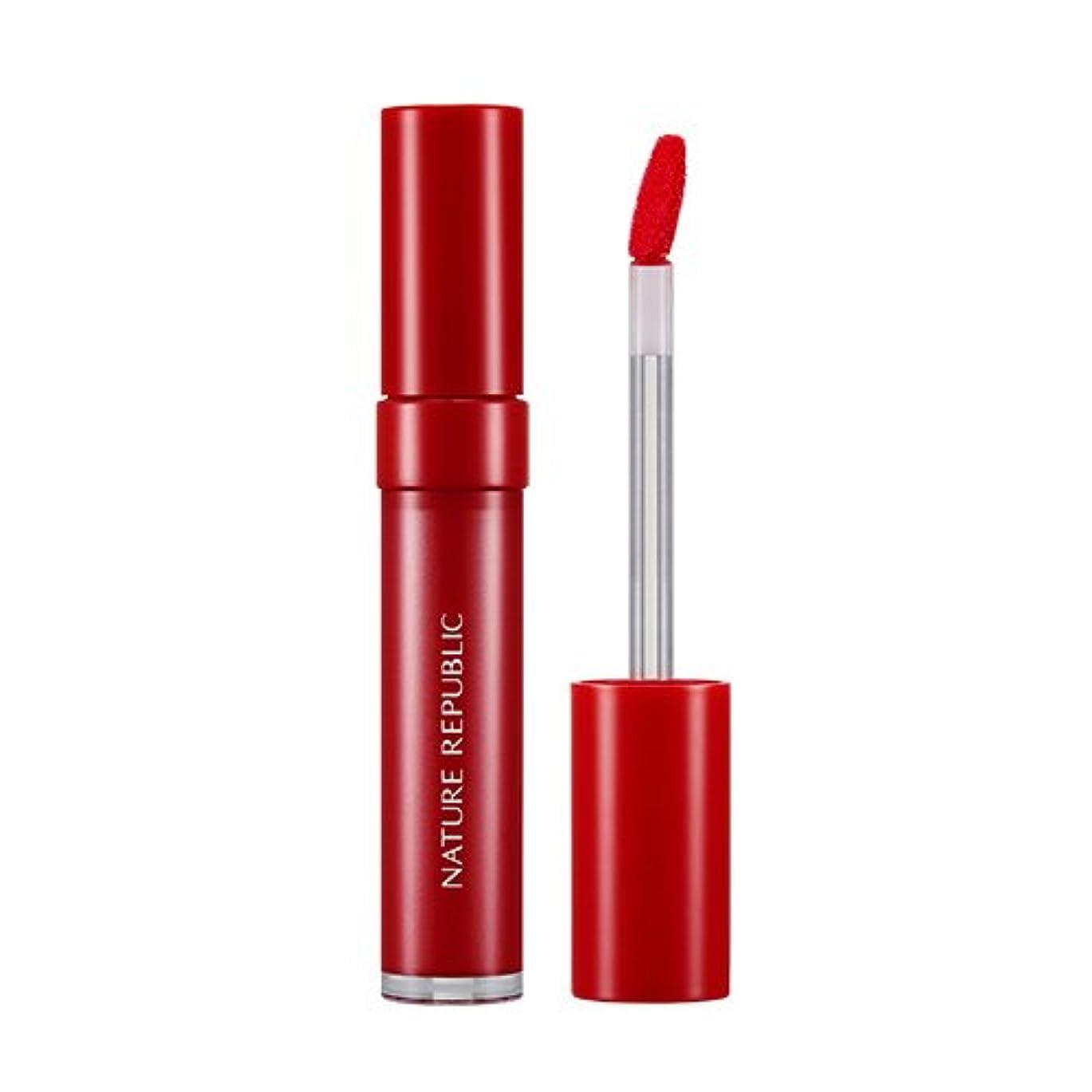 夜明けファッション写真撮影NATURE REPUBLIC INTENSIVE INK LIP LACQUER (#04 CLASSIC RED) / ネイチャーリパブリック インテンシブインクリップラッカー [並行輸入品]