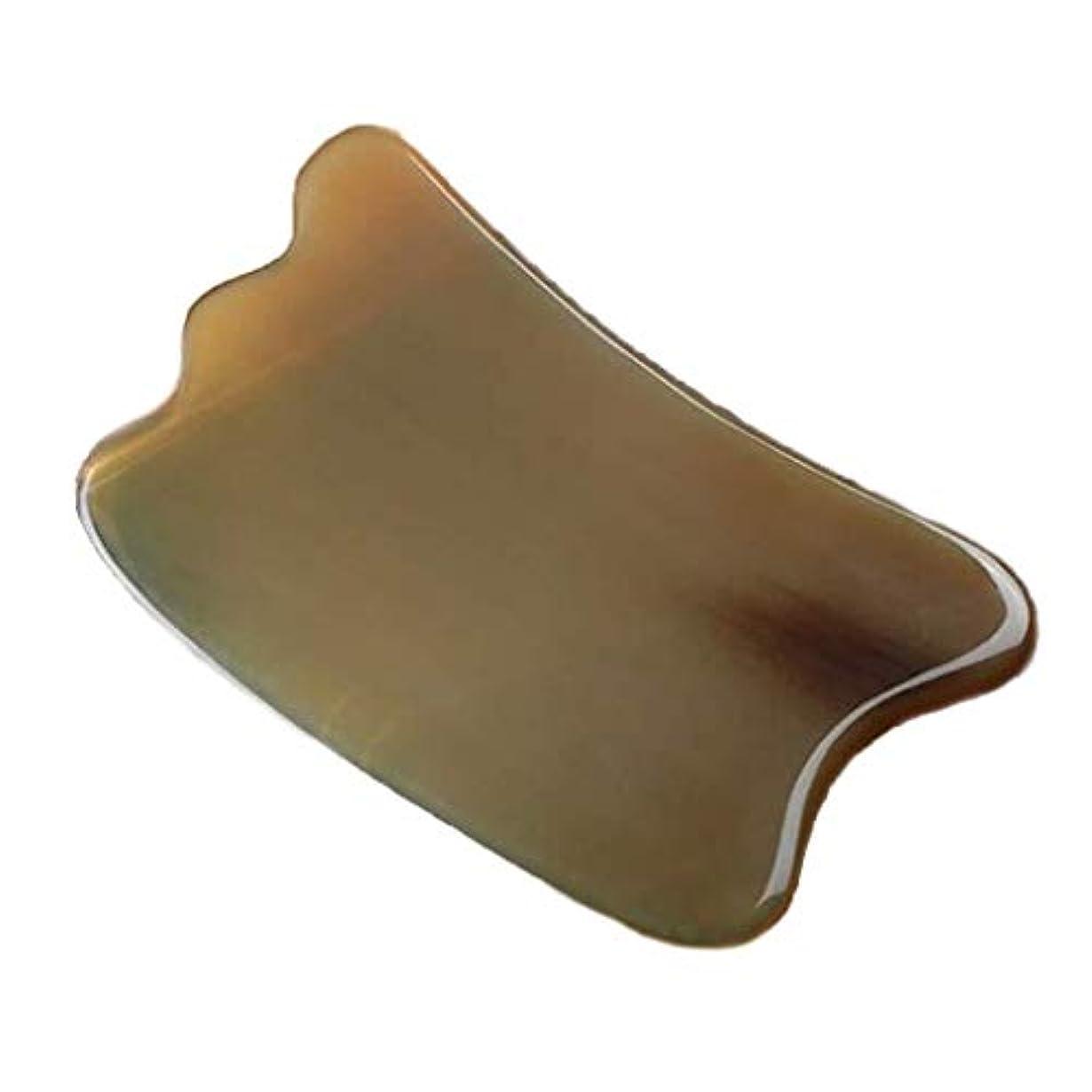 ラインナップ中世のシエスタホーンスクレイピングボードグアシャスクレイピングマッサージツールナチュラルスクレイピングボードアイフェイシャルマッサージ