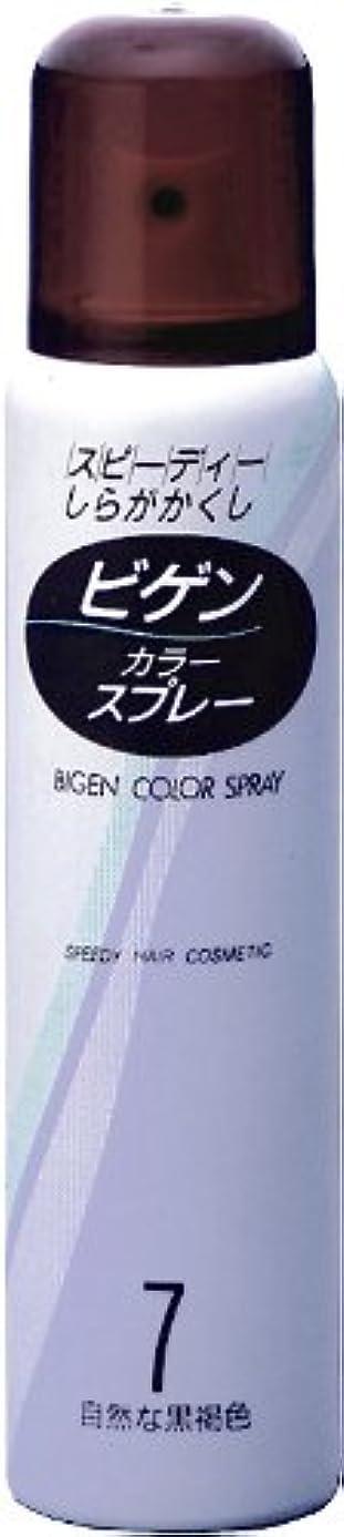 じゃない事業内容神秘ホーユー ビゲン カラースプレー 7 (自然な黒褐色) 125ml