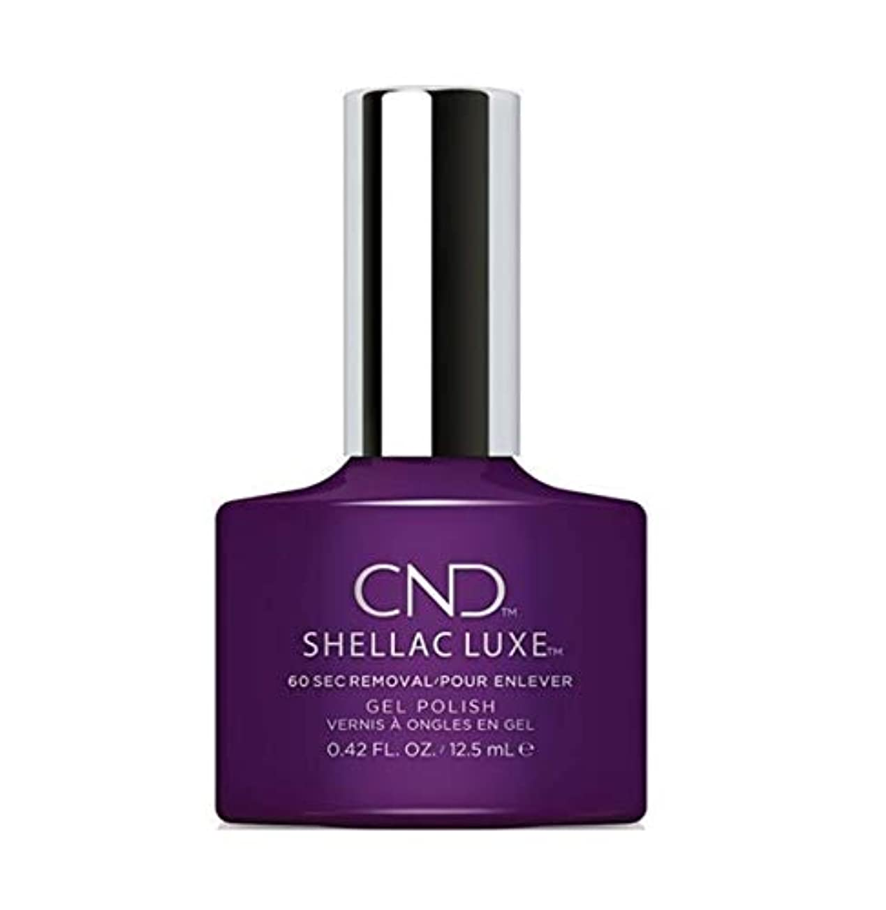 放映完全に乾く今CND Shellac Luxe - Temptation - 12.5 ml / 0.42 oz