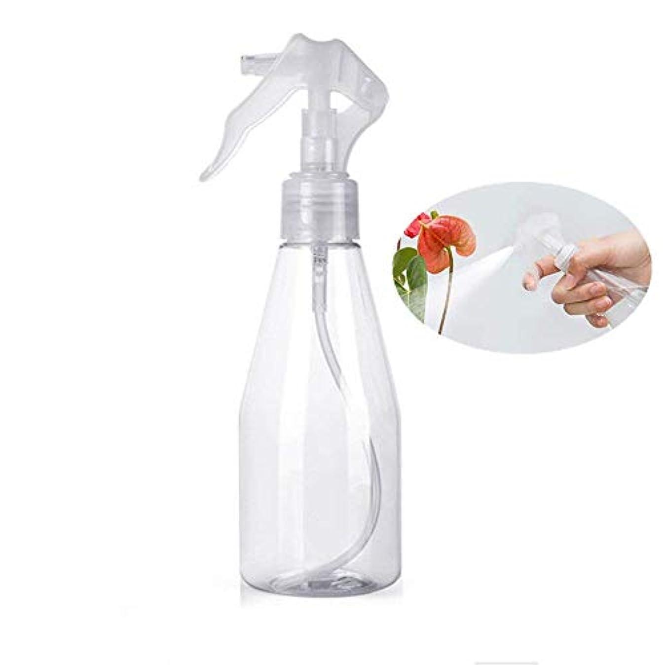 要件時メロディアスHongsheng スプレーボトル 化粧品ボトル 水さし 環境保護の材料 ミニ 掃除スプレー 園芸 観葉植物 料理用 食品用 ボトル 化粧用 霧吹き 詰め替え容器 漏れ防止 200ml 透明 (1個入)