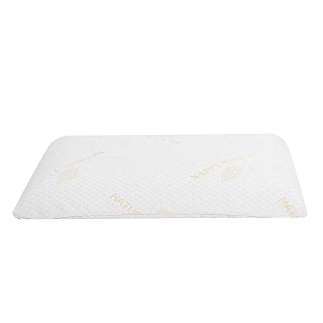眼コントローラもろいラテックス枕、首と肩の痛みのための睡眠の自然な高い整形外科顆粒マッサージデザインのための豪華な記憶枕
