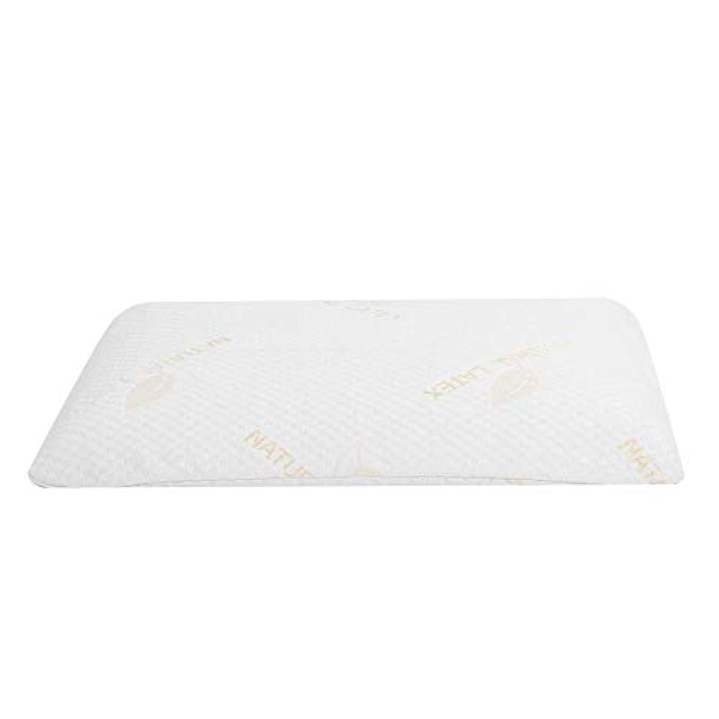 承認するキャメル降臨ラテックス枕、首と肩の痛みのための睡眠の自然な高い整形外科顆粒マッサージデザインのための豪華な記憶枕