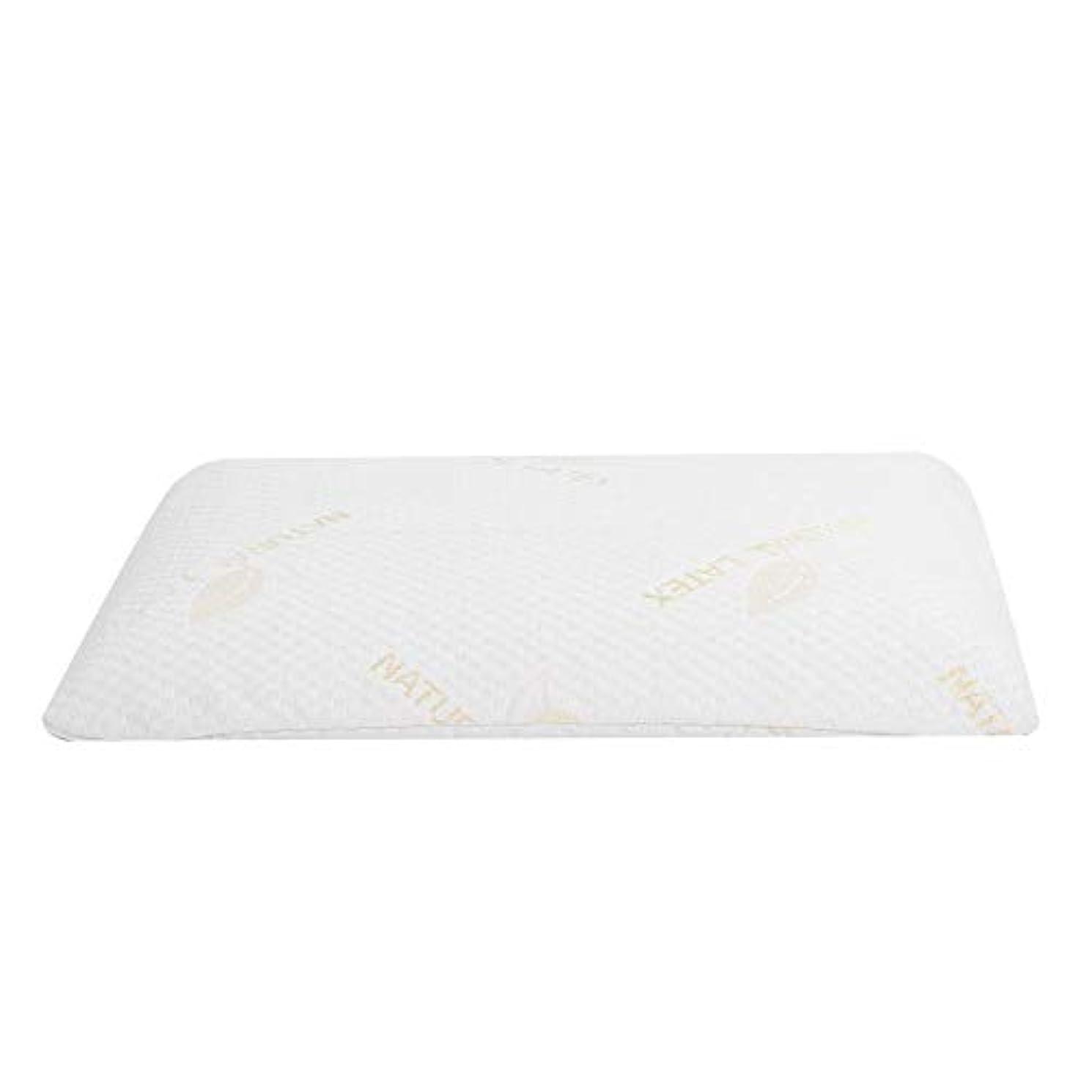 指紋嫌がるエスニックラテックス枕、首と肩の痛みのための睡眠の自然な高い整形外科顆粒マッサージデザインのための豪華な記憶枕