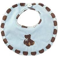 Bearington Baby - Posh Dots Bib (Blue) by Bearington