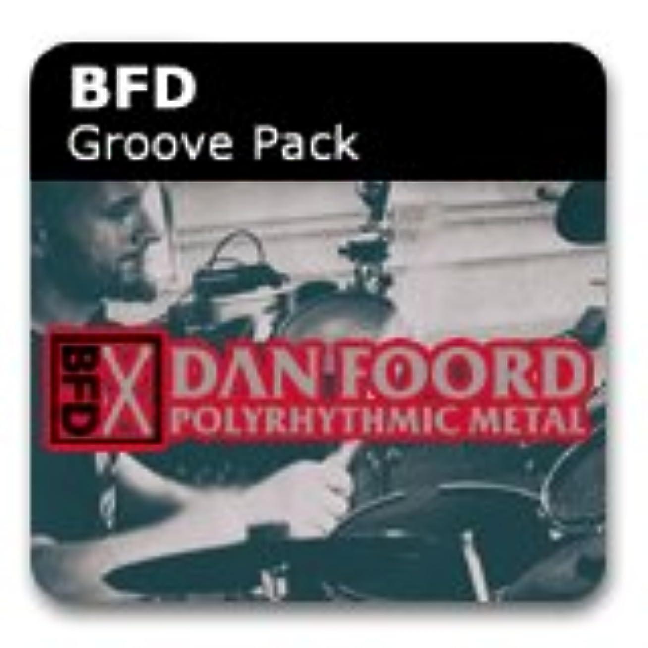 カブ追放するドレイン【国内正規品】fxpansion BFD3 Grooves : Dan Foord Polyrhythmic Metal