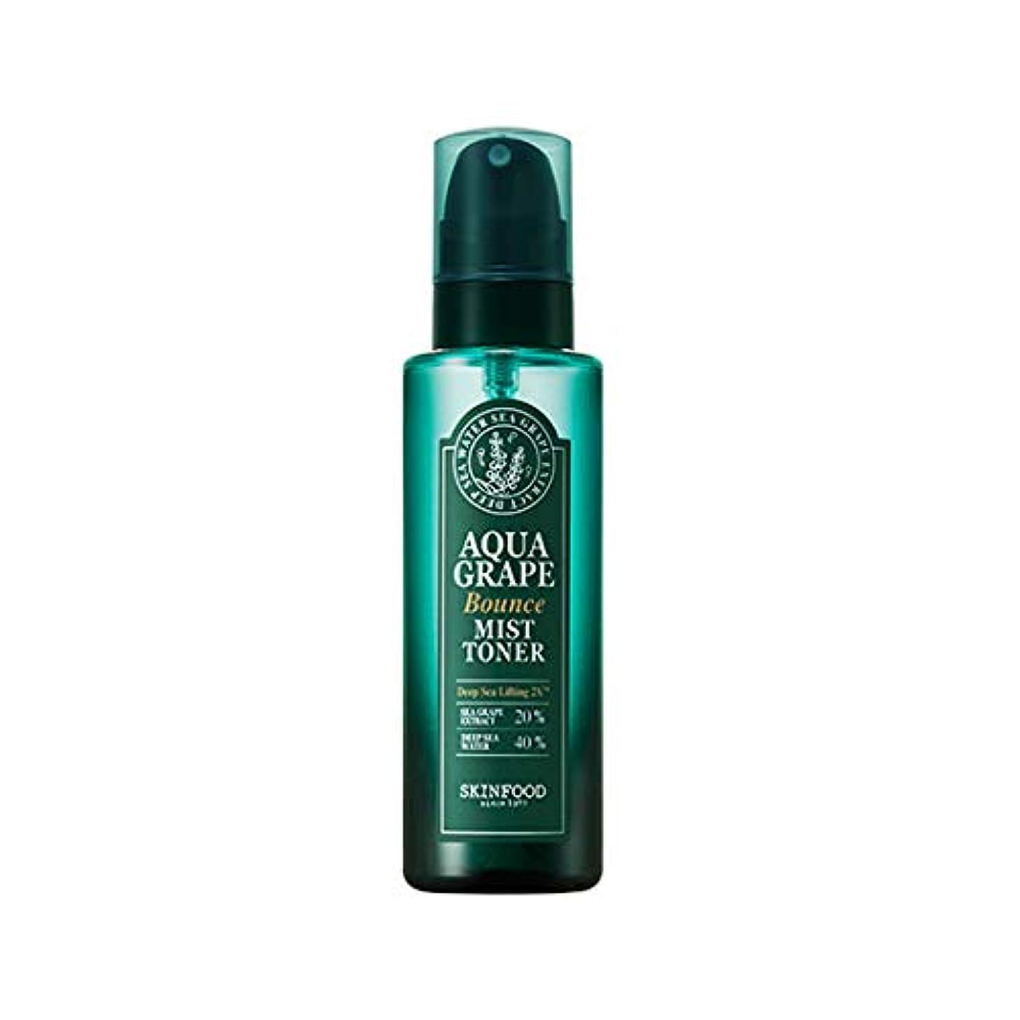 複数グラディス緊張Skinfood アクアグレープバウンスミストトナー/Aqua Grape Bounce Mist Toner 155ml [並行輸入品]
