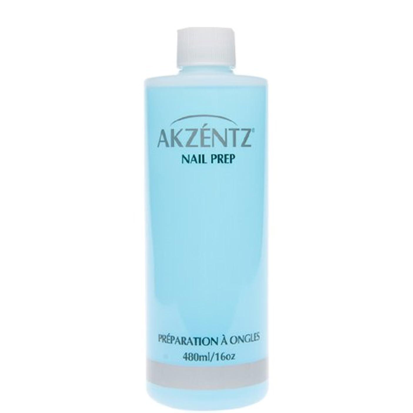 工業化するセレナほこりアクセンツ(AKZENTZ) ネイルプレップ 480ml