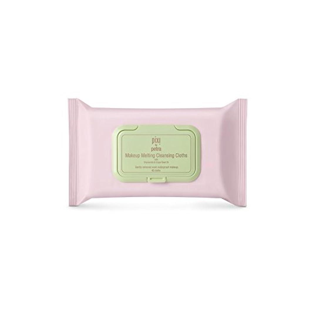 ギャンブル受け皿気分が良いPixi Makeup Melting Cleansing Cloths (Pack of 6) - 化粧溶融クレンジングクロス x6 [並行輸入品]