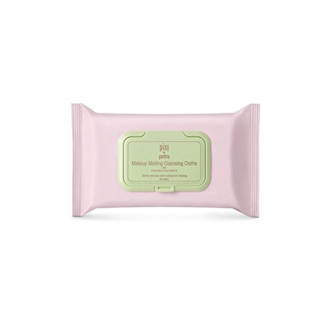 起点アラビア語ワイプPixi Makeup Melting Cleansing Cloths (Pack of 6) - 化粧溶融クレンジングクロス x6 [並行輸入品]