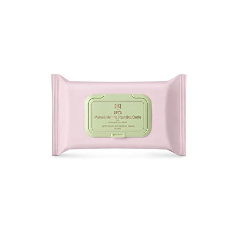 わずかに経度定数Pixi Makeup Melting Cleansing Cloths (Pack of 6) - 化粧溶融クレンジングクロス x6 [並行輸入品]