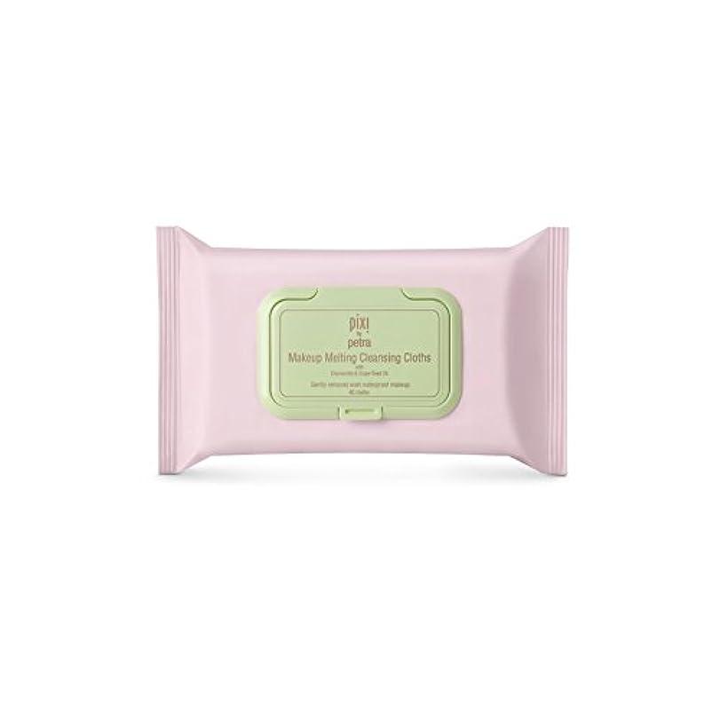 いわゆる最大化する創始者化粧溶融クレンジングクロス x4 - Pixi Makeup Melting Cleansing Cloths (Pack of 4) [並行輸入品]