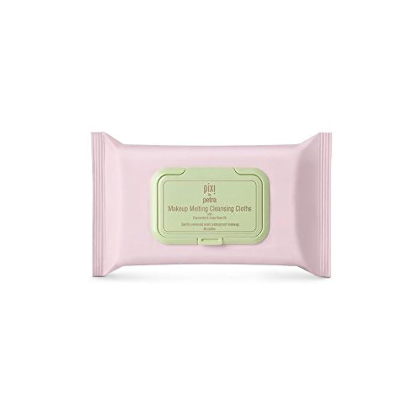 イサカロケーション復活するPixi Makeup Melting Cleansing Cloths (Pack of 6) - 化粧溶融クレンジングクロス x6 [並行輸入品]