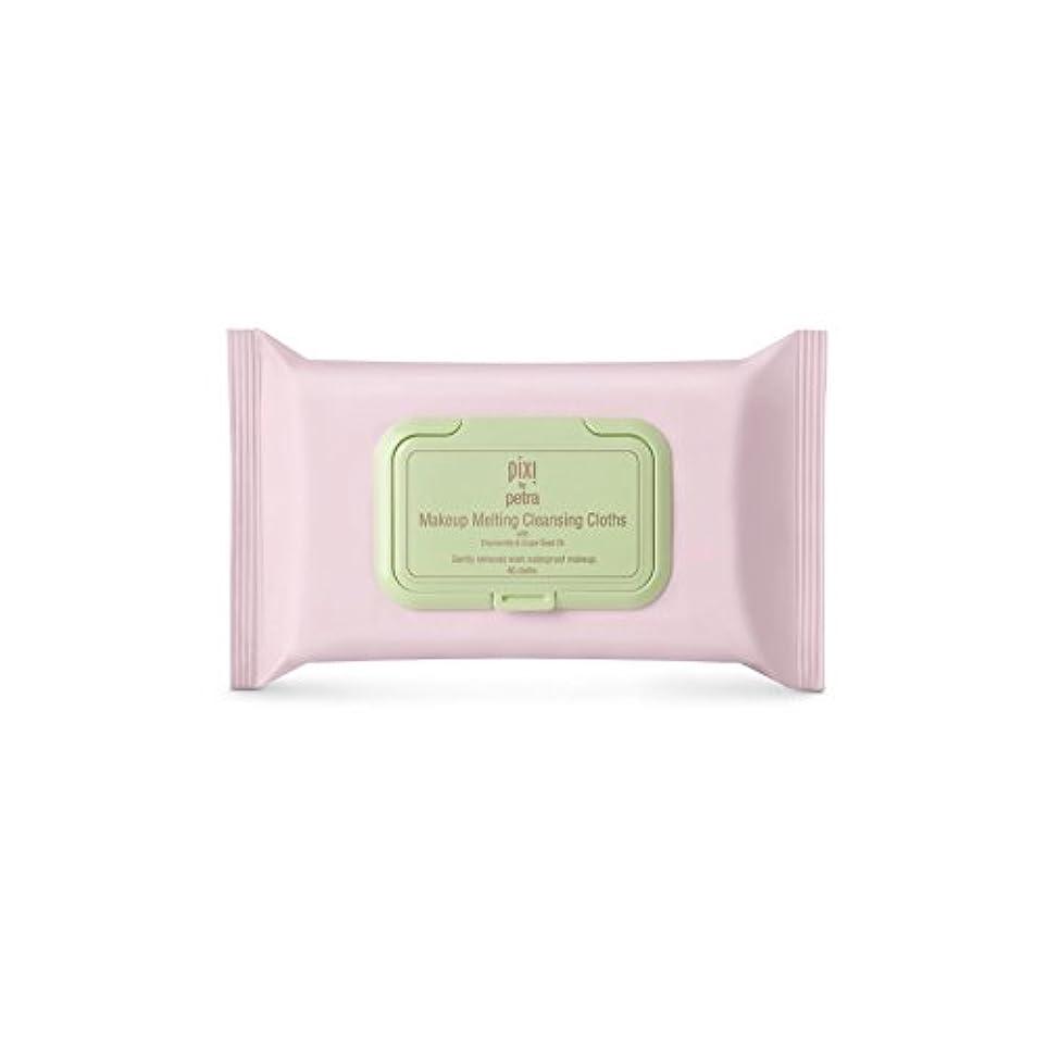 払い戻し雪だるまを作るフィードPixi Makeup Melting Cleansing Cloths (Pack of 6) - 化粧溶融クレンジングクロス x6 [並行輸入品]