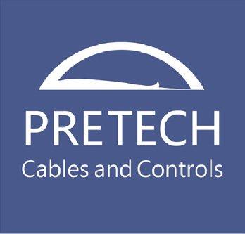 PRETECH Marine Maxflexコントロールケーブルアダプタクランプ&シム( 3000シリーズclamp-stainlessスチール)