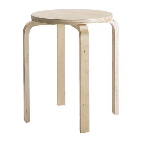 IKEA(イケア) FROSTA スツール バーチ材合板