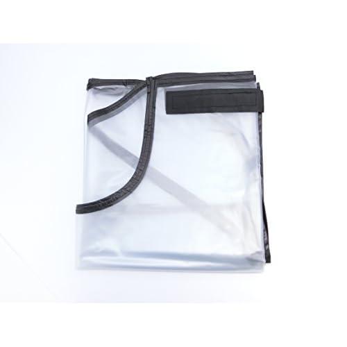 ゴルフ キャディー バッグ 用 軽量 レイン カバー ジッパー 防水 防塵 透明カバー