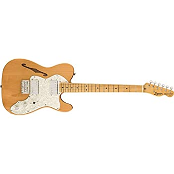 Squier by Fender エレキギター Classic Vibe '70s Telecaster® Thinline, Maple Fingerboard, Natural