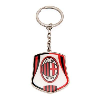 [해외]A.C.Milan (AC 밀란) 공식 열쇠 고리 방패 축구 서포터 용품 [병행 수입품]/A.C. Milan (AC Milan) Official Key Holder Shield Football Supporter Goods [Parallel import goods]
