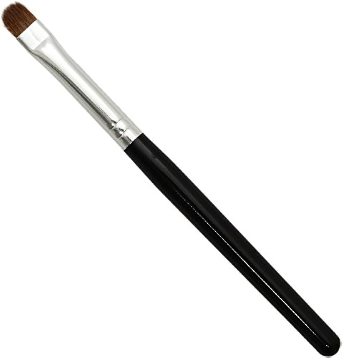 バターからかう魅了する熊野筆 メイクブラシ KUシリーズ シャドウライナーブラシ イタチ毛