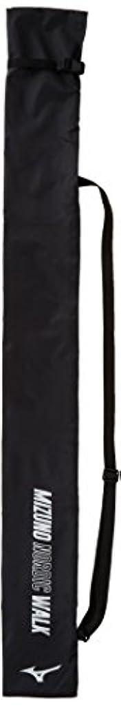 手錠スモッグ話すMIZUNO(ミズノ) ウォーキングポール用ケース C3JCW710 ブラック