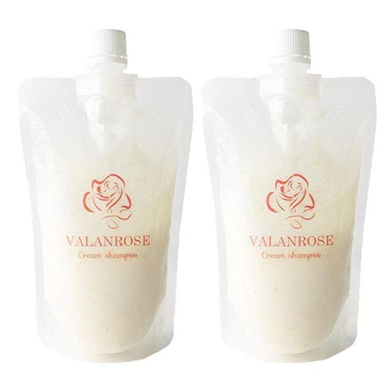 ピアニストメンターネットバランローズ クリームシャンプー2個×1セット VALANROSE Cream shampoo/シャンプー クリームシャンプー 髪 ヘアケア