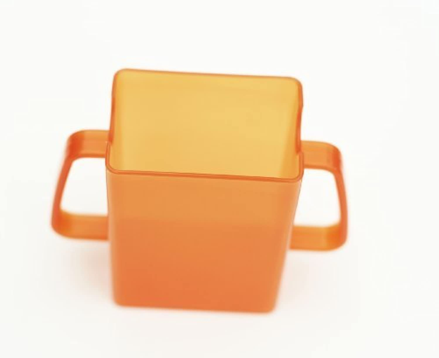 Mommys Helper Juice Box Buddies Holder for Juice Bags and Boxe, Orange by Mommy's Helper [並行輸入品]