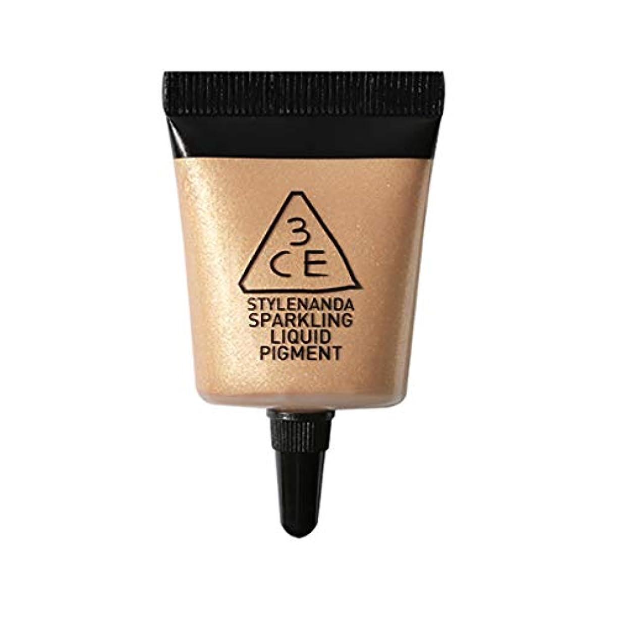 百年ジュラシックパーク血まみれの[3CE] スパークリング リキッド ピグメント #(Glory) アイシャドー Sparkling Liquid Pigment - Glow Liquid Glitter Eyeshadow Korean Cosmetics...