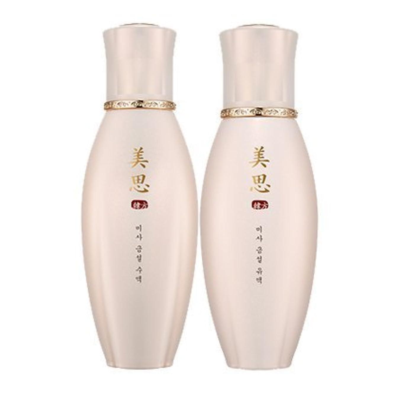ほのめかす第五暴力的なMISSHA(ミシャ) 美思 韓方 クムソル(金雪) 基礎化粧品 スキンケア 化粧水+乳液=お得2種Set