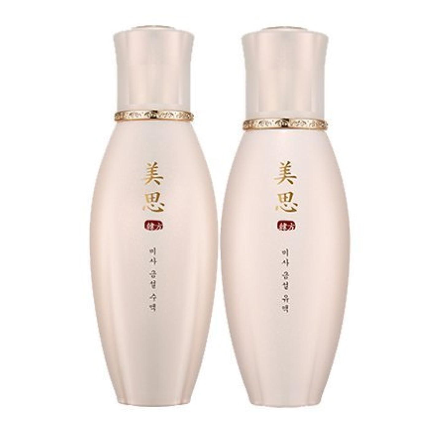 各打倒無力MISSHA(ミシャ) 美思 韓方 クムソル(金雪) 基礎化粧品 スキンケア 化粧水+乳液=お得2種Set