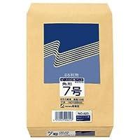 (まとめ) ピース R40再生紙クラフト封筒 角7 85g/m2 625 1パック(100枚) 【×10セット】 [簡易パッケージ品]